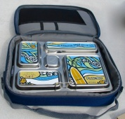 PlanetBox Plastic Free Seas Aloha Magnet Rover Lunchbox
