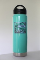 Plastic Free Hawaii Klean Kanteen 20oz Insulated Bottle